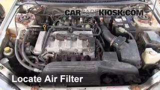 1999-2003 Mazda Protege Engine Air Filter Check