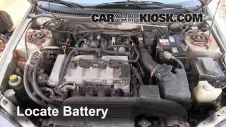 How to Clean Battery Corrosion: 1999-2003 Mazda Protege