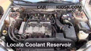 How to Add Coolant: Mazda Protege (1999-2003)