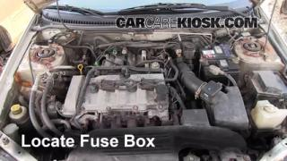 Blown Fuse Check 1999-2003 Mazda Protege