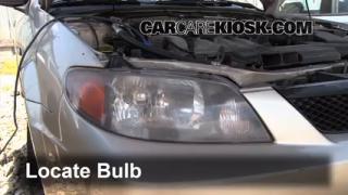 Parking Light Change 1999-2003 Mazda Protege