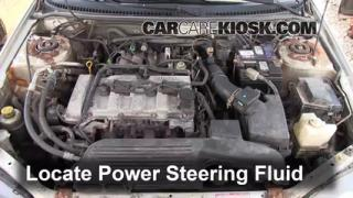 Follow These Steps to Add Power Steering Fluid to a Mazda Protege (1999-2003)