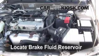 Add Brake Fluid: 1999-2003 Mitsubishi Galant