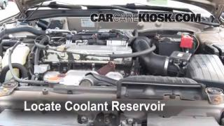 Coolant Level Check: 1999-2003 Galant