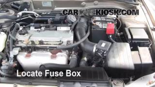 Blown Fuse Check 1999-2003 Mitsubishi Galant