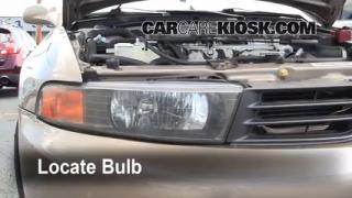 Headlight Change 1999-2003 Mitsubishi Galant
