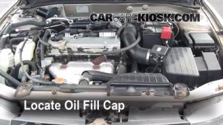 How to Add Oil Mitsubishi Galant (1999-2003)