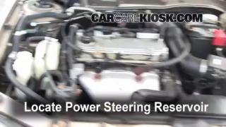 Follow These Steps to Add Power Steering Fluid to a Mitsubishi Galant (1999-2003)