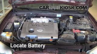 Battery Replacement: 2000-2003 Nissan Maxima