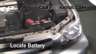 Battery Replacement: 2001-2007 Toyota Highlander