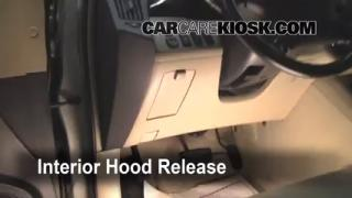 Open Hood How To 2001-2007 Toyota Highlander