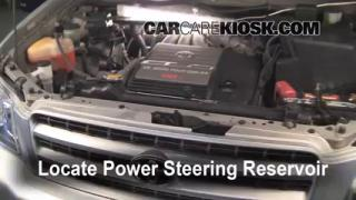 Fix Power Steering Leaks Toyota Highlander (2001-2007)