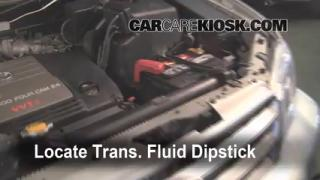 Transmission Fluid Level Check Toyota Highlander (2001-2007)