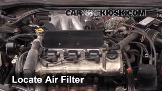 1999-2003 Toyota Solara Engine Air Filter Check