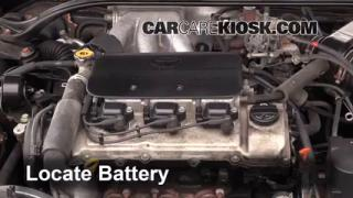 How to Jumpstart a 1999-2003 Toyota Solara