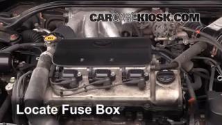 Replace a Fuse: 1999-2003 Toyota Solara