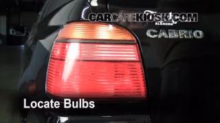 Tail Light Change 1995-2002 Volkswagen Cabrio