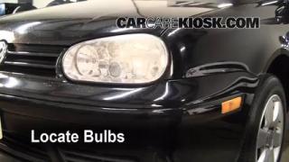 Front Turn Signal Change Volkswagen Cabrio (1995-2002)