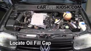 How to Add Oil Volkswagen Cabrio (1995-2002)