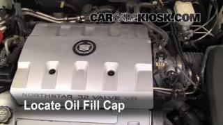 How to Add Oil Cadillac Seville (1998-2004)