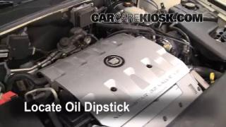Check Oil Level 1998-2004 Cadillac Seville