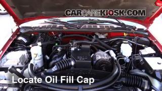 How to Add Oil Chevrolet S10 (1994-2004)