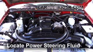 Follow These Steps to Add Power Steering Fluid to a Chevrolet S10 (1994-2004)
