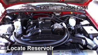 Add Windshield Washer Fluid Chevrolet S10 (1994-2004)