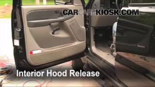 Open Hood How To 2000-2006 Chevrolet Suburban 1500