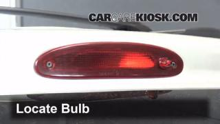 Third Brake Light Bulb Change Dodge Caravan (2001-2004)