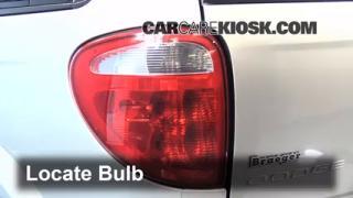 Tail Light Change 2001-2004 Dodge Grand Caravan