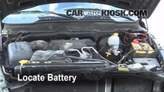Battery Replacement: 2003-2005 Dodge Ram 2500