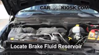 Add Brake Fluid: 2002-2005 Dodge Ram 1500