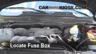 Replace a Fuse: 2003-2005 Dodge Ram 2500