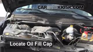 How to Add Oil Dodge Ram 1500 (2002-2005)