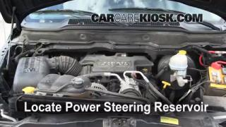 Follow These Steps to Add Power Steering Fluid to a Dodge Ram 1500 (2002-2005)