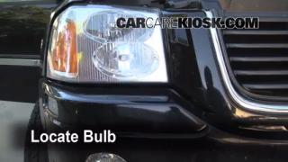 Parking Light Change 2002-2009 GMC Envoy