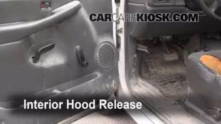 Open Hood How To 1999-2007 GMC Sierra 1500