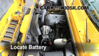 How to Clean Battery Corrosion: 2003-2009 Hummer H2