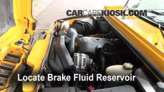 Add Brake Fluid: 2003-2009 Hummer H2