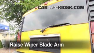 Rear Wiper Blade Change Hummer H2 (2003-2009)