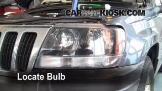 Headlight Change 1999-2004 Jeep Grand Cherokee