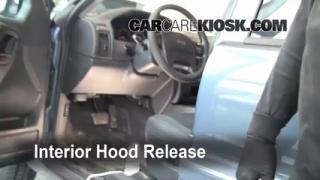 Open Hood How To 1999-2004 Jeep Grand Cherokee