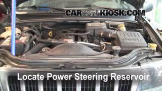 Follow These Steps to Add Power Steering Fluid to a Jeep Grand Cherokee (1999-2004)