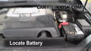 Battery Replacement: 2003-2009 Kia Sorento