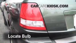 Brake Light Change 2003-2009 Kia Sorento