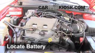 Battery Replacement: 1999-2005 Pontiac Grand Am