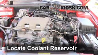 Coolant Level Check: 1999-2005 Grand Am