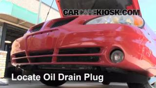 Oil & Filter Change Pontiac Grand Am (1999-2005)