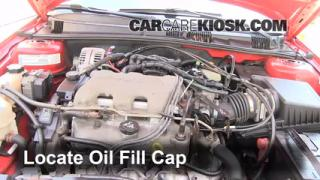 How to Add Oil Pontiac Grand Am (1999-2005)